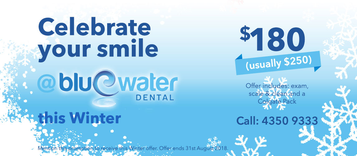 Winter Special at Bluewater Dental